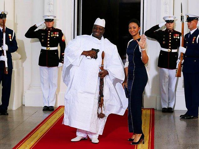 6. Halkın 'servet avcısı' diye adlandırdığı eski Gambiya Cumhurbaşkanı'nın eşi Zeinab Suma