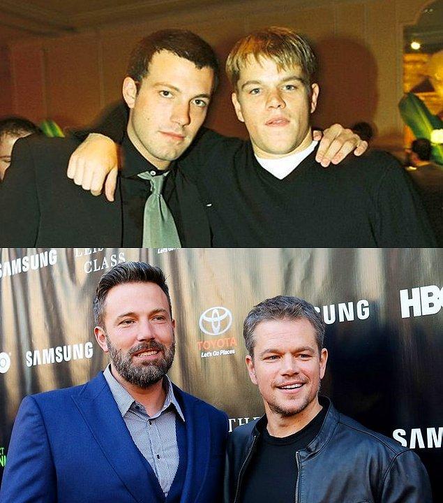 14. Ben Affleck ve Matt Damon arkadaşlığı da çocukluklarına dayanıyor.