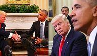 Obama ve Trump'ın İlk Buluşmasına Bir Beden Dili Uzmanından Derinlemesine Analiz