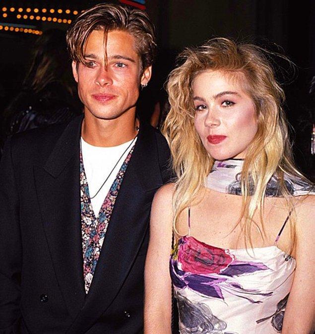 16. Christina Applegate ve Brad Pitt'in yakın arkadaşlığı Brad'in ismini daha kimsenin bilmediği yıllara dayanıyor.