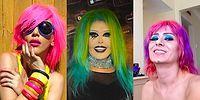 Memlekete Renkli Saçı Onlar Getirdi! Gökkuşağı Renklerini Saçlarına Taşıyan 19 Yerli Ünlü