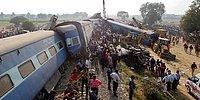Hindistan'da Tren Raydan Çıktı: En Az 100 Ölü, 150 Yaralı