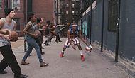 Basketbol Topuyla Dubstep Müziği Yapan Basketbol Virtüözü Grup