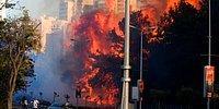İsrail'de Yangınlar: On Binlerce Kişi Evlerini Terk Etti