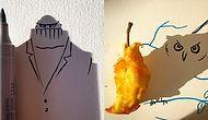 Günlük Objelerin Gölgeleri ile Çizimi Buluşturan Yaratıcı Sanatçıdan Eğlenceli Fotoğraflar
