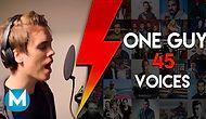 İnanılmaz Yetenek: Bir Adam 45 Farklı Ses
