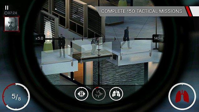 4. Hitman: Sniper