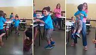 6 Yaşında İlk Defa Yürüyen Arkadaşlarını Coşkuyla Motive Eden Sınıf