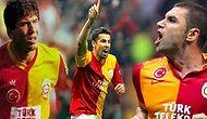 Kimler Geldi Kimler Geçti! İşte Galatasaray'ın Gönüllerde Taht Kuran 14 Golcü Futbolcusu