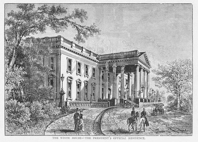 6. Beyaz Saray aslında köleler tarafından inşa edildi.