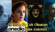 2016'da Hazırlanmış, Onedio'da En Çok Okunan 15 Film Listesi