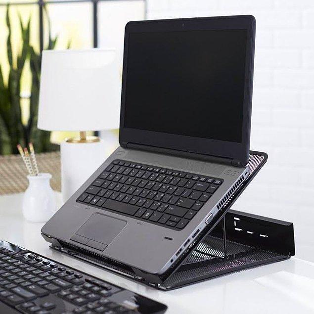 4. Neredeyse bütün laptoplar da olan ısınma problemini engellemek için soğutucu kullanın!