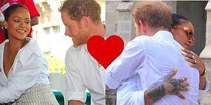 Rihanna Cazibesi Bir Can Daha Aldı! Utangaç Prens Harry Yeni Tanıştığı Riri'ye Abayı Yaktı