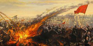 Bizans İstanbul'unu Tarih Boyunca Saldırılardan Koruyan Bir Savaş Silahı: Rum Ateşi