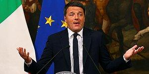 İtalya Başbakanı Renzi, Referandum Yenilgisinin Ardından İstifasını Açıkladı