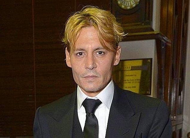 """9. Johnny Depp için bir daha """"her kılık yakışıyor"""" diyemeyeceğiz..."""