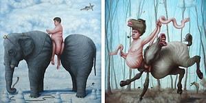 Algılarla Oynamayı Seven Sürrealist Sanatçıdan Beyin Gıdıklayıcı 20 Eser