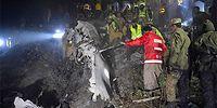 Pakistan'daki Uçak Kazasında Kurtulan Yok