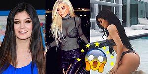 Kendisini Sürekli Yeni Modeliyle Takas Eden Kylie Jenner'ın Evrim Tadındaki Değişimi!