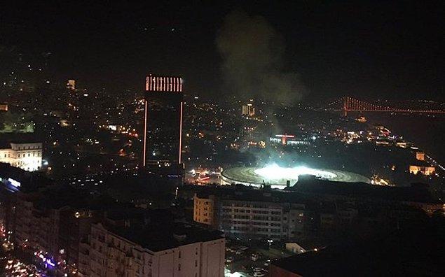 """İçişleri Bakanı Süleyman Soylu, ilk açıklamasında """"20'ye yakın yaralı var, iki ayrı patlama olduğu değerlendiriliyor"""" dedi"""