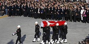 Şehitler Uğurlanıyor: 5 Polis İçin İlk Tören...