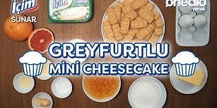 Enfes Tadıyla Bizi Mutlu Edecek Vitamin Dolu Mini Cheesecake!