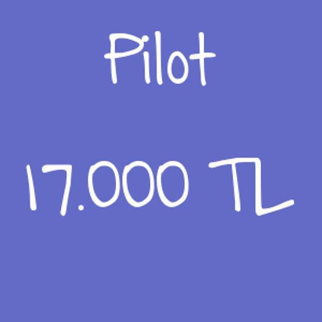 Pilot - 17.000TL!