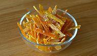 Meyvelerin Kabukları Bile Lezzetli Portakal Limon Şekerlemesi Nasıl Yapılır?