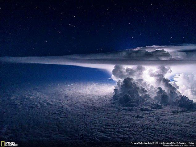 2. Manzara dalında üçüncülük ödülü: Pasifik Fırtınası, Pasifik Okyanusu