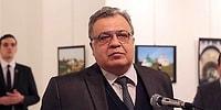 Rusya Büyükelçisi Ankara'daki Suikast Sonucu Hayatını Kaybetti...