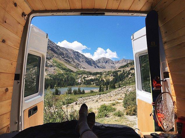 3. 15 bin dolarlık karavan manzarası.