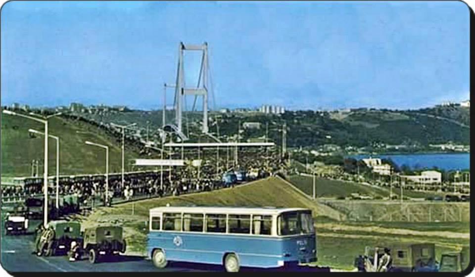 Boğaziçi Köprüsü 1980'ler