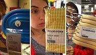 IKEA'da Ürün İsimleri ile Karısını Trolleyen Adam