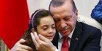 Cumhurbaşkanı Erdoğan Halepli Bana ve Ailesi ile Görüştü