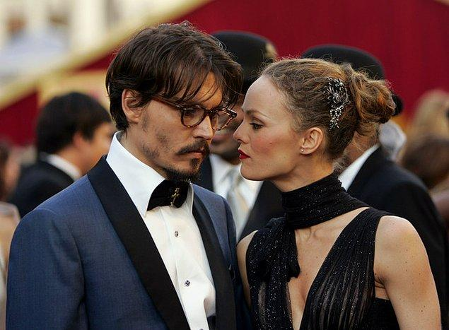5. Johnny Depp – Vanessa Paradis