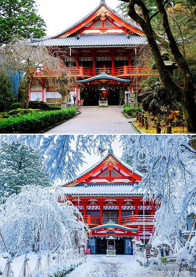 5. Natadera Tapınağı, Komatsu, Japonya