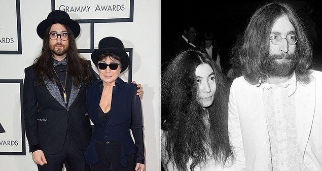 17. John Lennon ve Yoko Ono'nun oğlu Sean