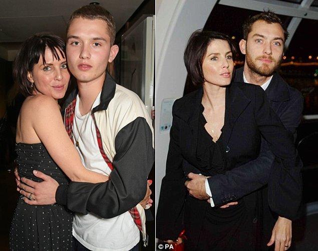 9. Jude Law ve Sadie Frost'u oğlu Rafferty