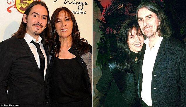 16. George Harrison ve Olivia Harrison'ın oğlu Dhani