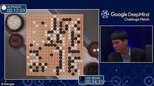 3. Dünya Go şampiyonu, bir bilgisayarla yaptığı mücadeleyi kaybetti.