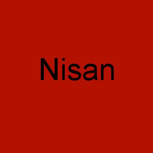 Nisan!