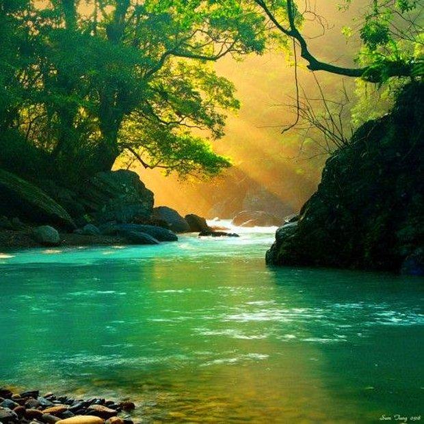 Güzel bir nehir