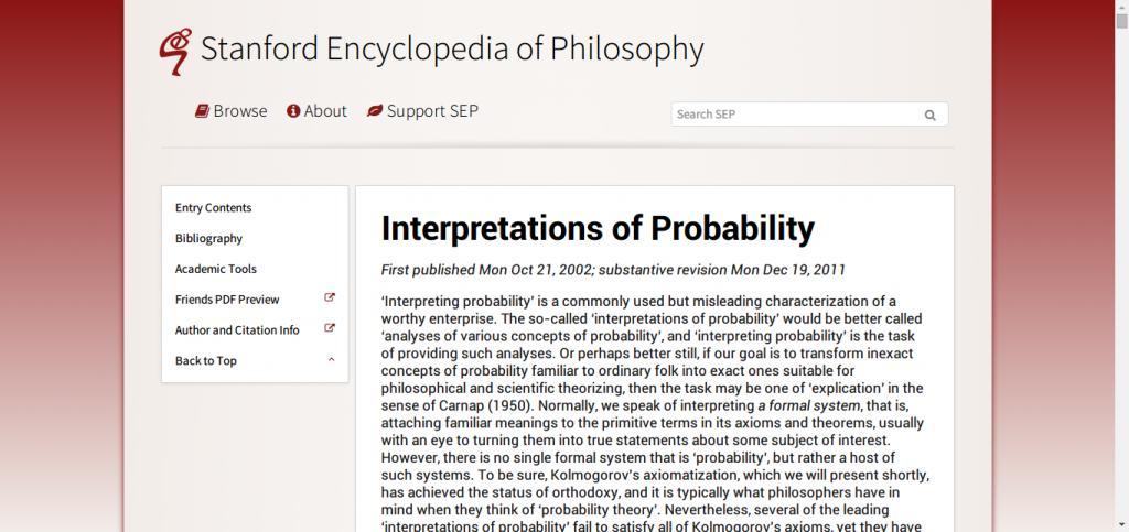Stanford Felsefe Ansiklopedisi ile ilgili görsel sonucu
