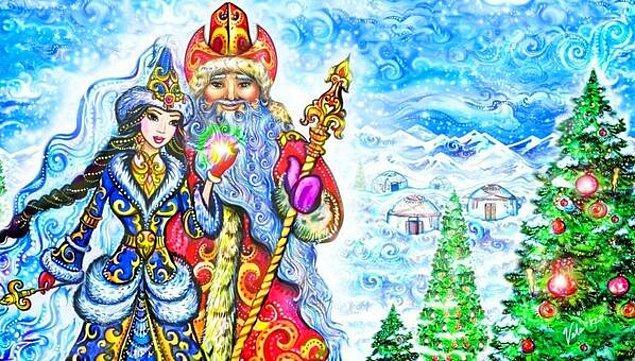 6. Türk mitolojisi de dahil olmak üzere pek çok mitolojide Noel Baba figürüne rastlanıyor.