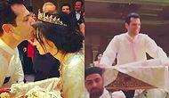 Murat Yıldırım ve Arap Güzeli İmane Elbani, Leğenli Borazanlı Bir Acayip Düğünle Evlendi!