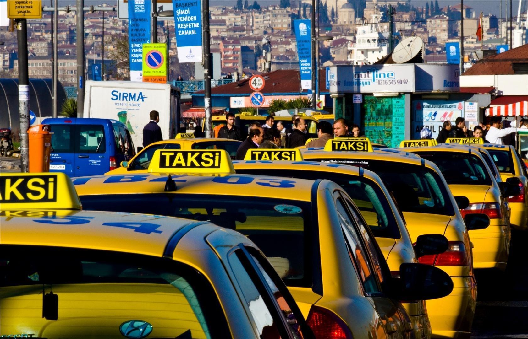 istanbul taksi ile ilgili görsel sonucu