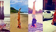 Yoga Sayesinde Verdikleri Pozlarla Vücutlarının Esnekliği Aklımızı Alan 21 Ünlü