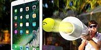iPad Pro Üzerine Golf Topu Fırlatılırsa Ne Olur?