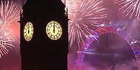 Londra'da Muhteşem Yeni Yıl Kutlaması