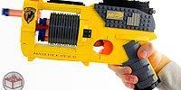 LEGO Parçalarından Yapılan Muhteşem NERF Silahı
